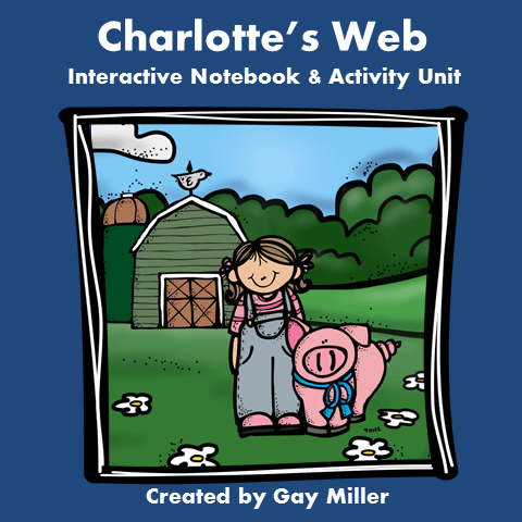 Charlotte's Web Book Unit sold on Teachers Pay Teachers