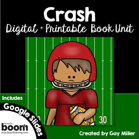 Crash - a novel by Jerry Spinelli