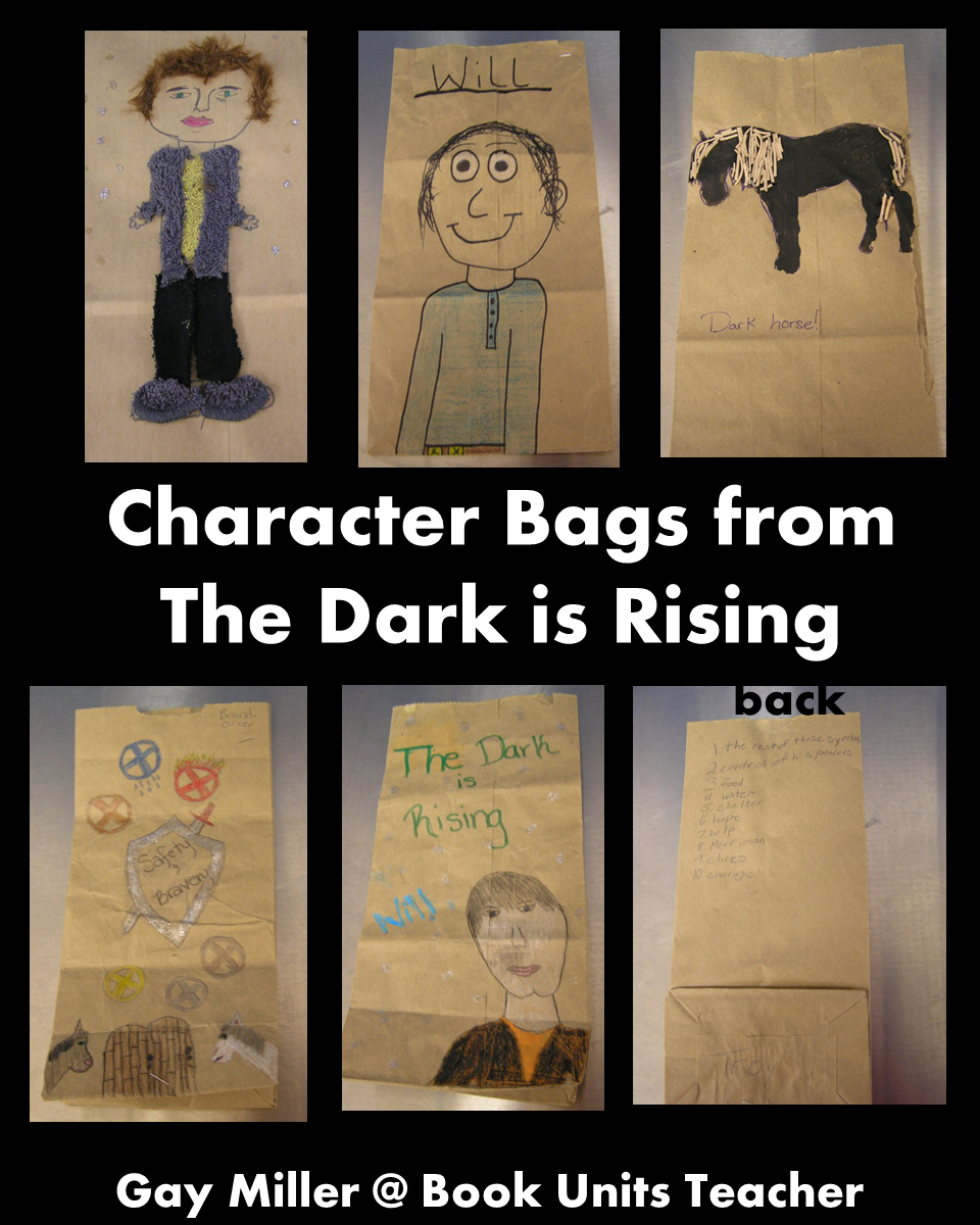 The Dark is Rising Character Bags