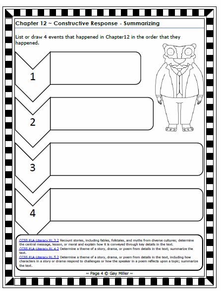 Teaching Activities to use with Fantastic Mr. Fox - Book Units Teacher