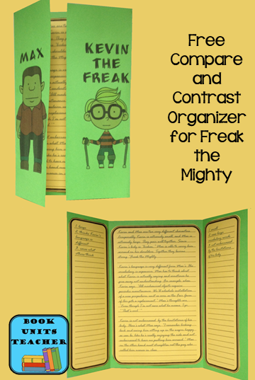 Free Graphic Organizer to use with Freak the Mighty