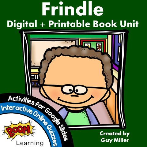 Frindle Vocabulary and Questions