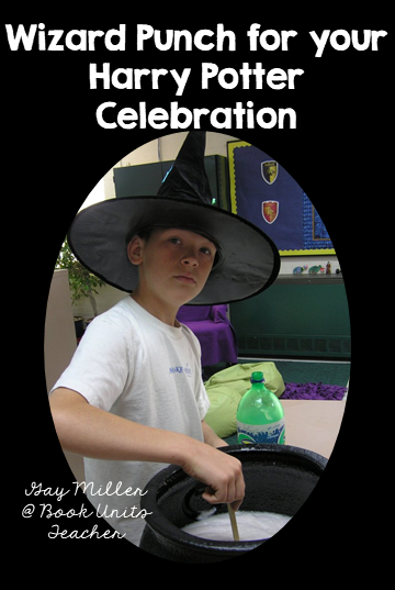 Teaching Ideas including Free Printables for Harry Potter and the Sorcerer's Stone