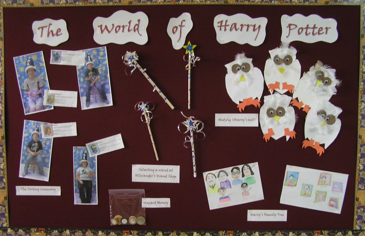 Harry Potter and the Sorcerer's Stone Bulletin Board