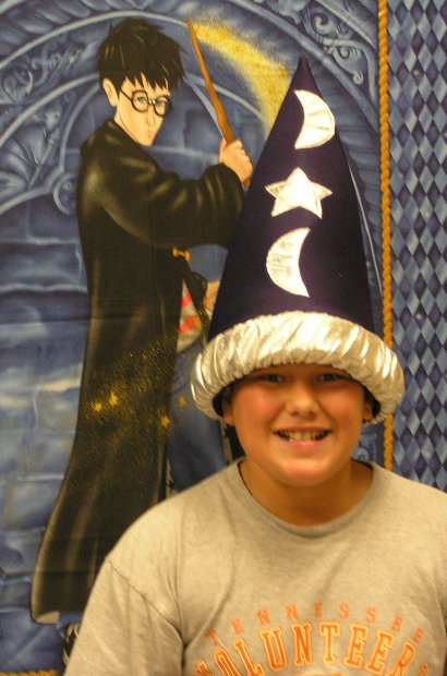 Students enjoyed creating project while reading Harry Potter and the Sorcerer's Stone.