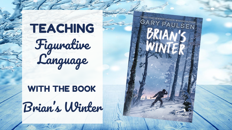 Free Figurative Language Activity to use with Brian's Winter by Gary Paulsen