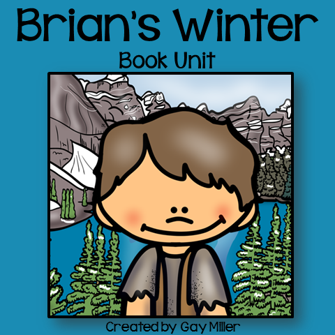 Brian's Winter Book Unit available at Teachers Pay Teachers