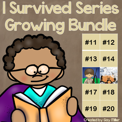 Purchase the I Survived Growing Bundle and save $$$.