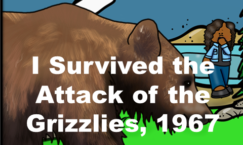 Free Book Unit Samples for I Survived the Attack of the Grizzlies, 1067