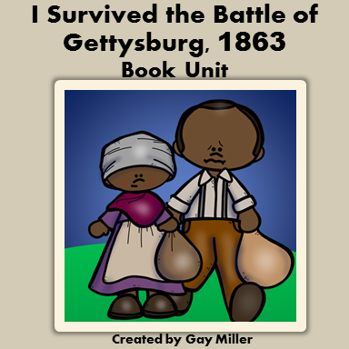 I Survived the Battle of Gettysburg, 1863 Book Ideas