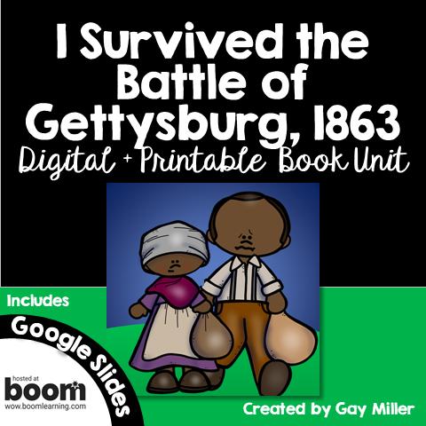 7-I Survived the Battle of Gettysburg, 1863