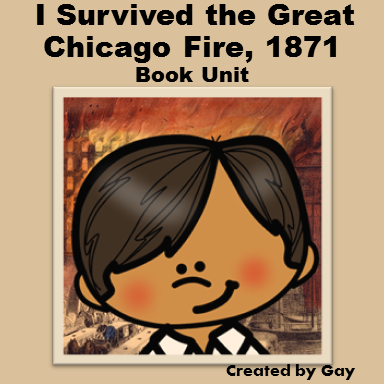 I Survived the Great Chicago Fire, 1871 Book Ideas