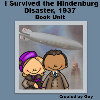 I Survived the Hindenburg Disaster, 1937 Book Ideas