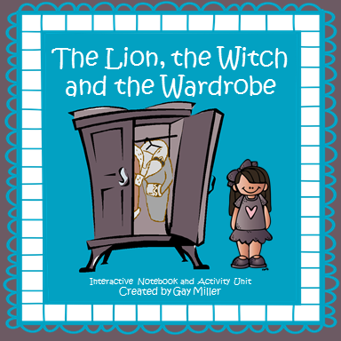 The Lion, the Witch and the Wardrobe Interactive Notebook and Activity Unit