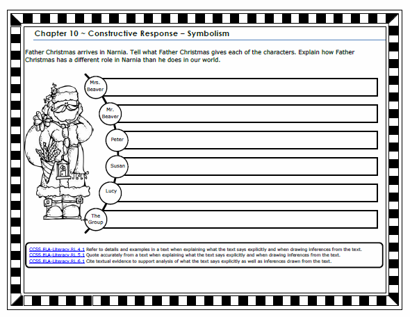 Worksheets The Lion The Witch And The Wardrobe Worksheets the lion witch and wardrobe anchor chart above pairs with constructive response graphic organizer below