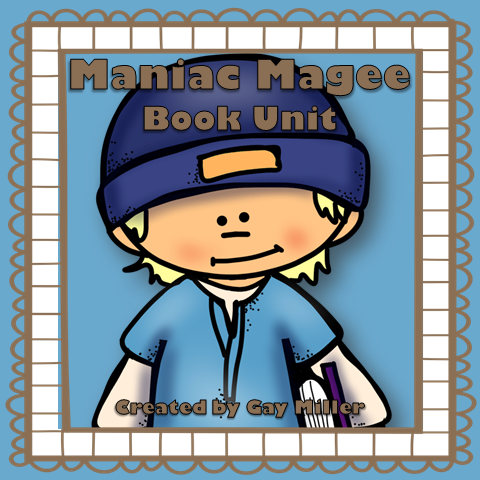 Maniac Magee Interactive Notebook and Activity Unit