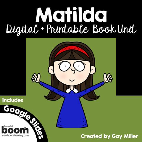 Matilda Book Unit