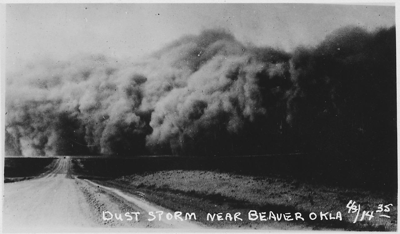Dust Storm Photo