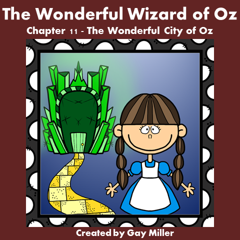 Download The Wizard of Oz Free Book Units ~ Chapter 11.