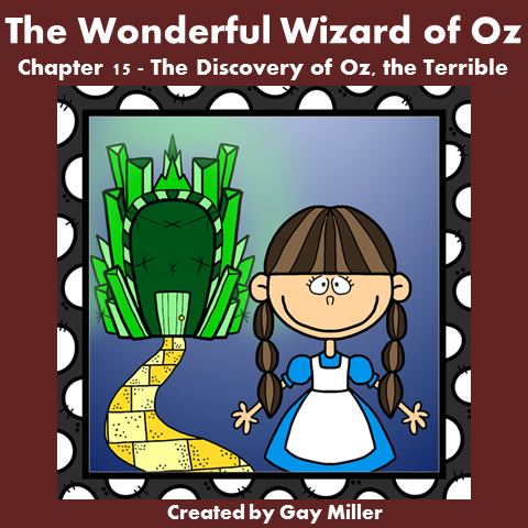 Download The Wizard of Oz Free Book Units ~ Chapter 15.