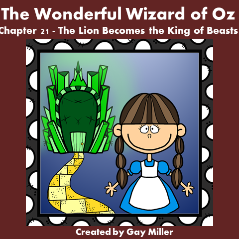 Download The Wizard of Oz Free Book Units ~ Chapter 21.