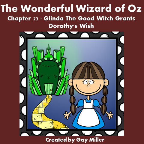 Download The Wizard of Oz Free Book Unit ~ Chapter 23.