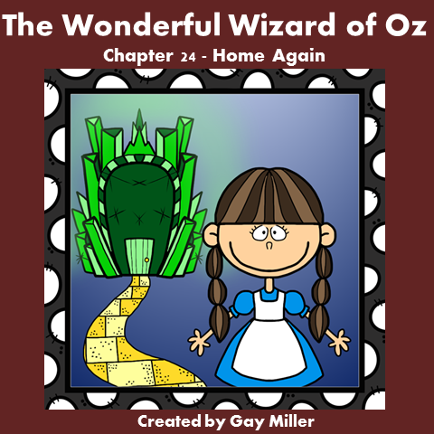 Download The Wizard of Oz Free Book Unit ~ Chapter 24.