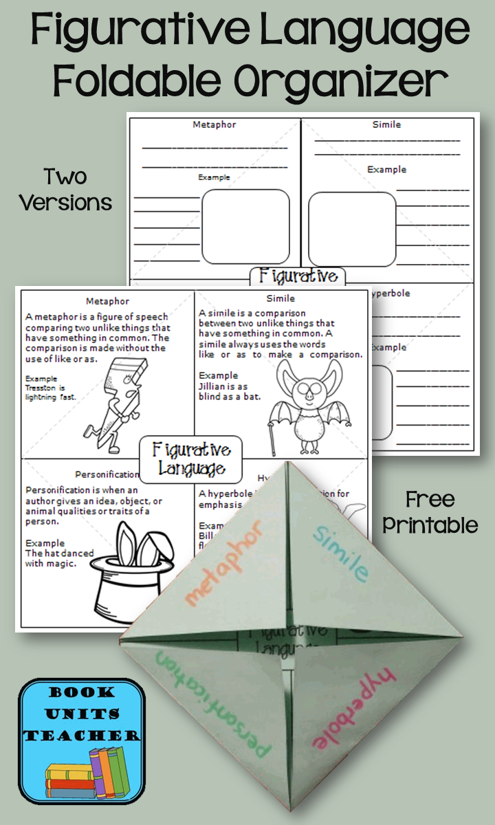 Peter Pan Similes Metaphors And Personification Book Units Teacher