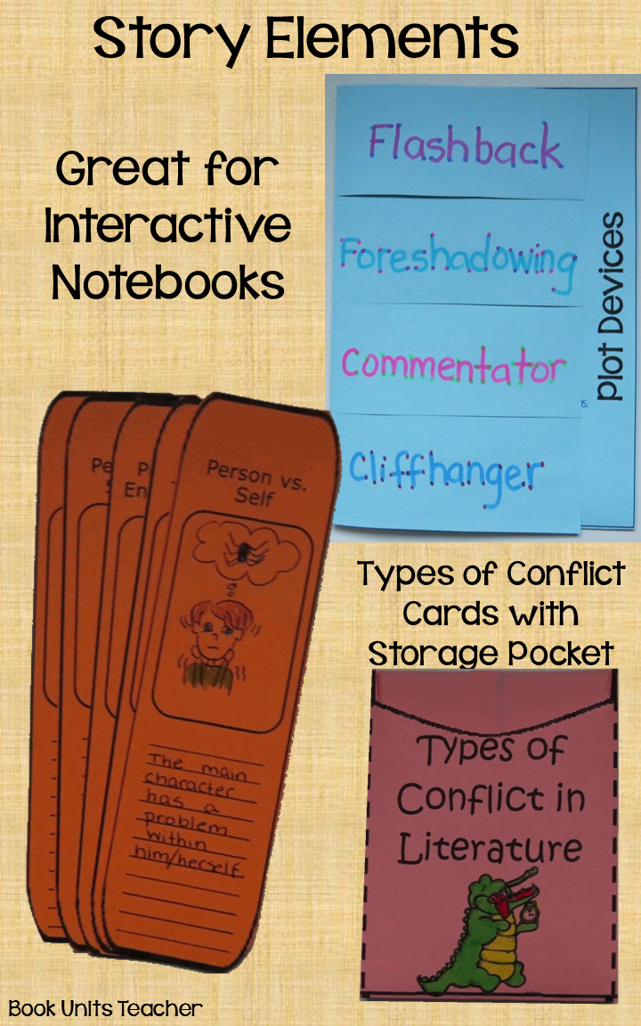 Story Elements Organizers