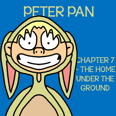 Chapter 7 The Home Under the Ground ~ Free Peter Pan Book Unit ~ Each week collect one resource until you have the complete Peter Pan Book Unit.
