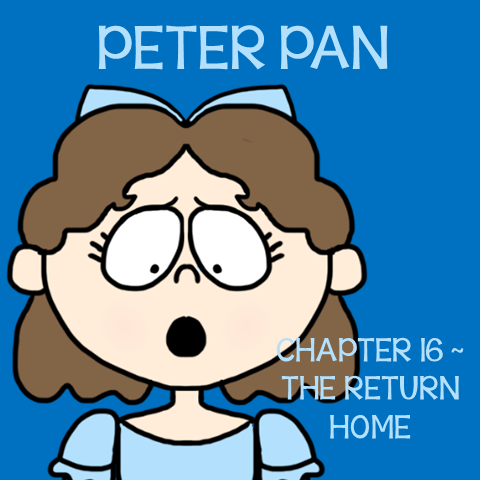 Chapter 16 The Return Home ~ Free Peter Pan Book Unit ~ Each week collect one resource until you have the complete Peter Pan Book Unit.
