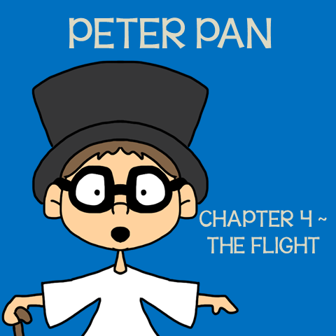 Chapter 4 The Flight ~ Free Peter Pan Book Unit ~ Each week collect one resource until you have the complete Peter Pan Book Unit.