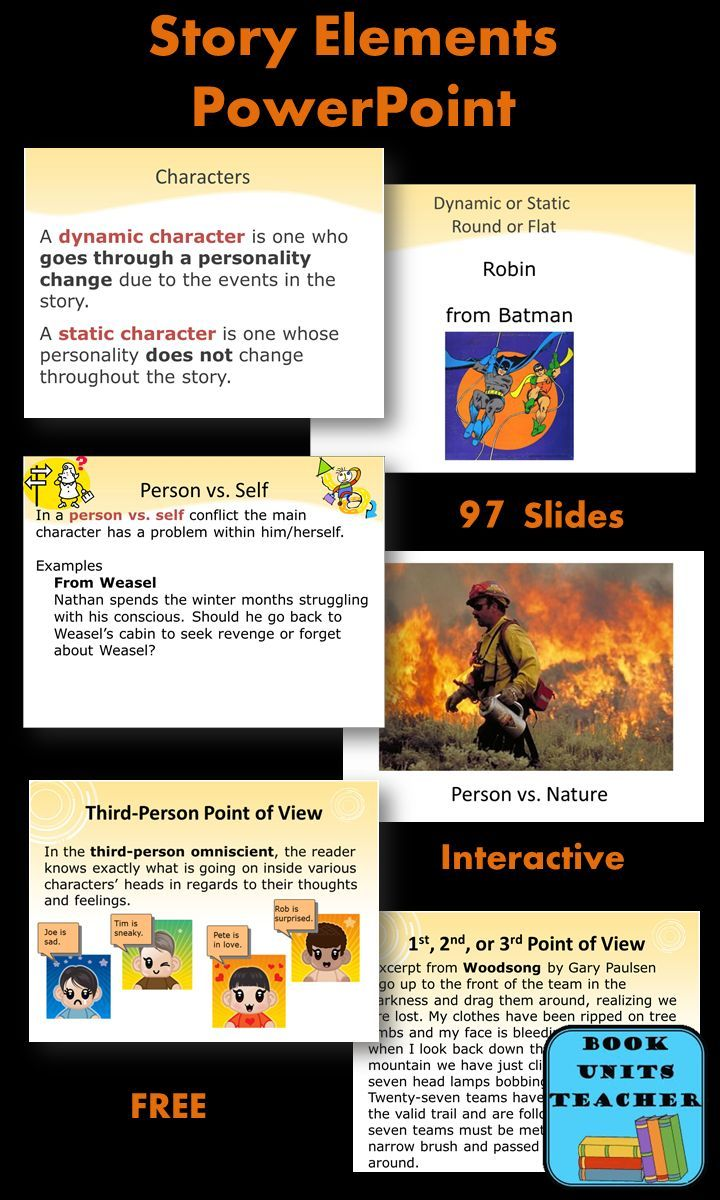 FREE Story Elements PowerPoint