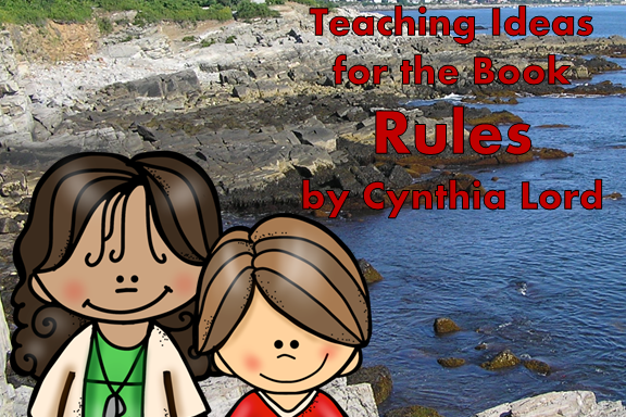 Teaching Ideas for the Book Rules by Cynthia Lord