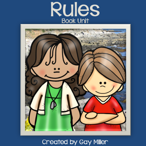 Teaching Ideas to use withe the Book Rules by Cynthia Lord