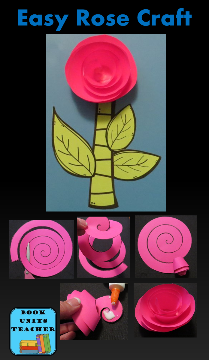 Rose Craft - Patterns and instructions are included.
