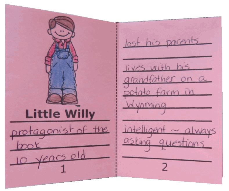 Free Character Traits Mini-Books to use when reading Stone Fox