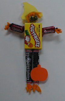 Scarecrow Made from Candy