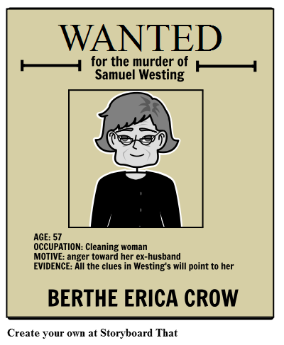 The Westing Game Wanted Poster