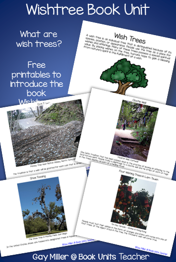 Activities to use with the book Wishtree by Katherine Applegate