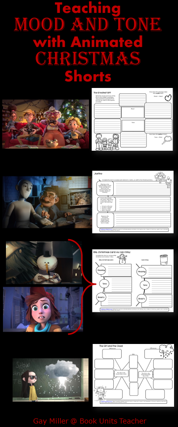 Free Printables to Use with Animated Shorts (Christmas)