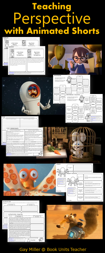 Free Printables to Use with Animated Shorts (Perspective)