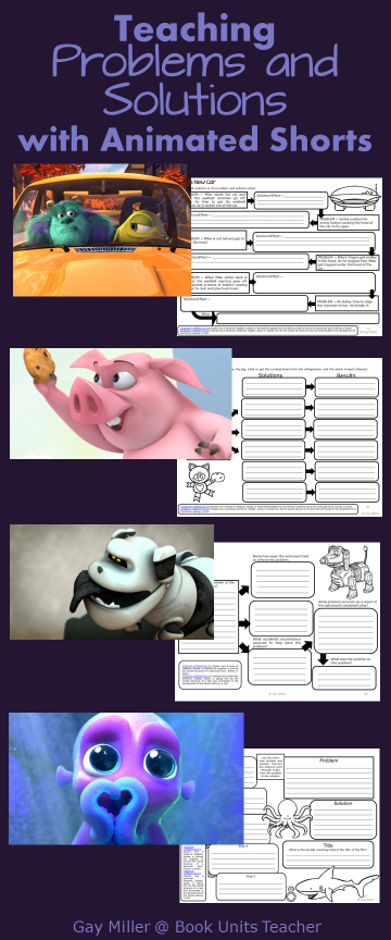 Free Printables to Use with Animated Shorts (Problems and Solutions)
