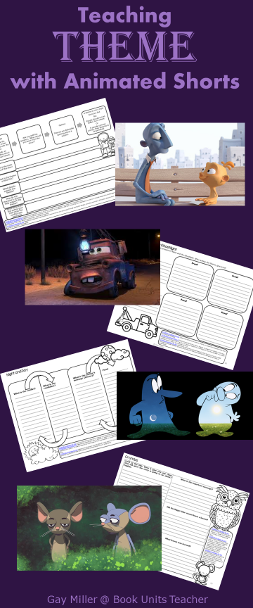 Free Printables to Use with Animated Shorts (Theme)