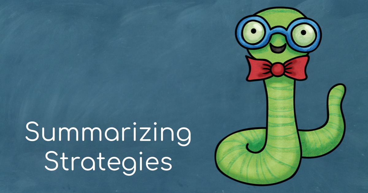 Learn about summarizing. Check out several teaching ideas. Download this free activity for students.