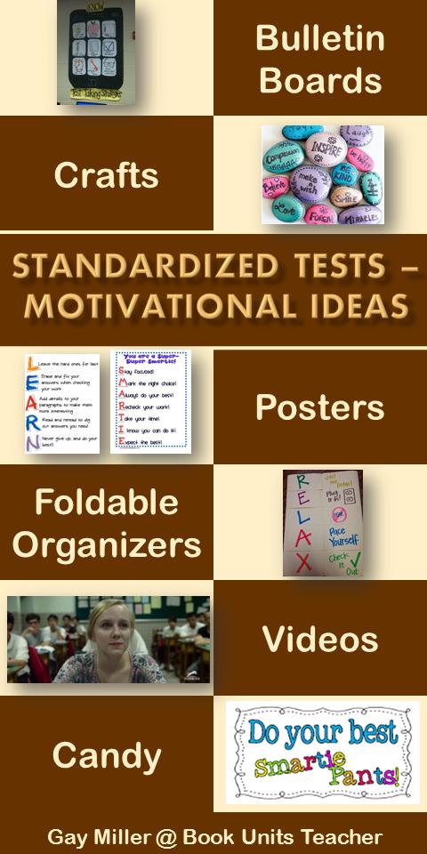 Standardized Tests Motivational Ideas
