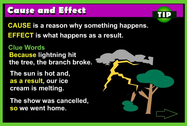Cause and Effect Rules and Practice