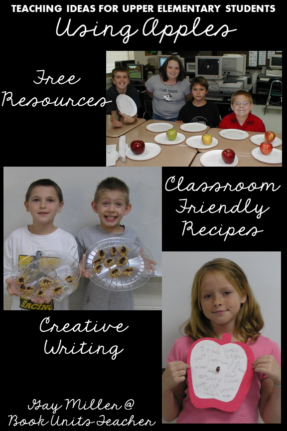 Check out these fun apple activities for upper elementary students. Big kids love learning with apples as a theme.