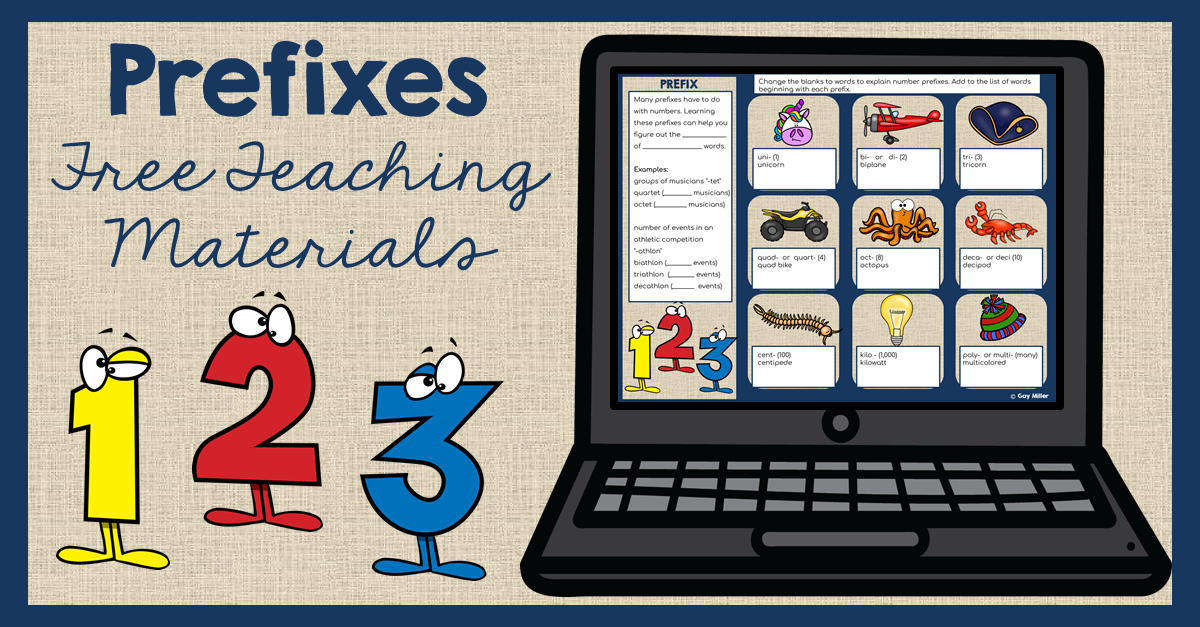 Prefix Teaching Activities and Ideas