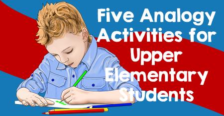 Five Analogy Activities